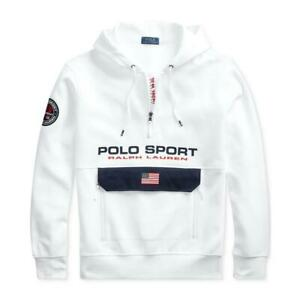 POLO RALPH LAUREN Mens Double Knit Polo Sport Hoodie NEW NWT $124.99