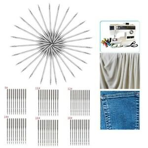 60PCS Home Sewing Machine Needle 11 7512 8014 9016 100 for Brother Singer Kit $10.29