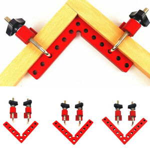 90° Degree Wood Right Angle Corner Clip Clamps Positioning Panel Working Tool US $32.99