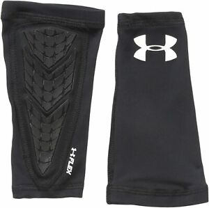 Under Armour 1276710 001 Boys Armour Flex Black 2pc Youth Padded Forearm Sleeve $18.74