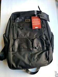 NRA Ballistic Nylon Backpack Range Bag Hiking Hunting with Padded Laptop Pouch
