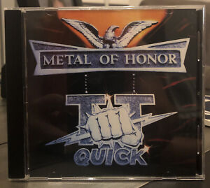 Metal of Honor by T.T. Quick CD Aug 1996 Megaforce Current Accept Singer $9.00