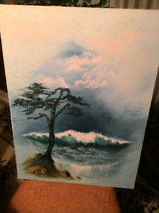 Pacheco California Artist Seascape Oil Painting $75.00