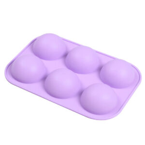 Large Half Ball Sphere Silicone Cake Mold Muffin Chocolate Cookie Baking Mould $7.69