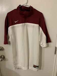 new mens nike dry fit golf shirt large $12.00