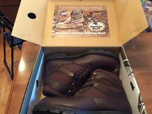NEW Georgia Boots Mens Homeland 6quot; Steel Toe EH WP Lace Up Leather Brown 13M