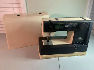 Vintage Viking Husqvarna 190 Sewing Machine amp; Case UNTESTED FOR PARTS REPAIR $88.88