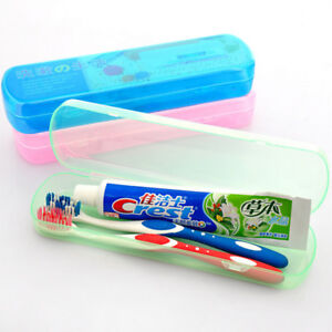 Portable Toothbrush Cover Case Holder Plastic Storage Box Travel Camping Supply $1.99