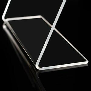 Acrylic plastic L shaped transparent place card office stationery AU card A8Y9 $0.99