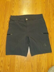 Gerry Mens Shorts Gray Front Size 36 Water Cargo Stretch $19.99