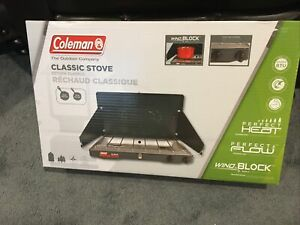 Coleman Classic Propane Stove New Sealed Free Shipping