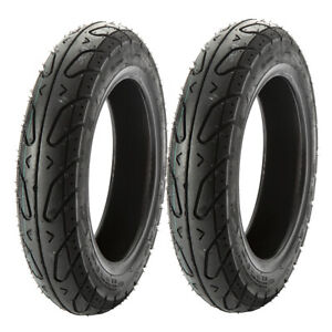 MMG SET OF TWO Scooter Tubeless Tires 3.50 10 Front or Rear fits on 10 Inch Rim $64.90