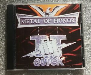 TT Quick Metal Of Honor CD * FREE Fast U.S. Shipping $14.90