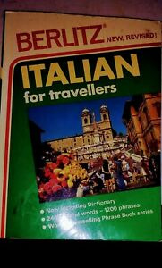 Italian for Travellers Revised Edition by Berlitz Guides Paperback