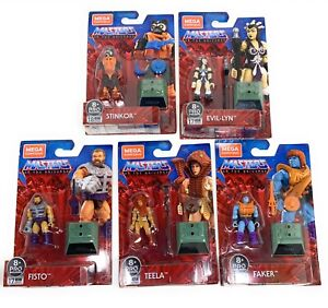 Mega Construx Masters of the Universe Heroes set of All 5 Figures