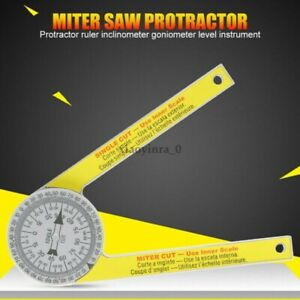 Miter Saw Protractor Pro Site Accurate Angle Measurements Joiner Carpenter Tools $7.39