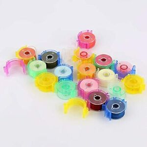 TFBOY 25Pcs Sewing Bobbin Small Clips Tool Accessory Color Thread Holder $13.91