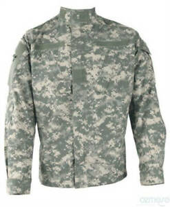 NEW MILITARY CAMOUFLAGE CLOTHING AUTHENTIC U.S. ARMY JACKET OFFICIAL US COMBAT