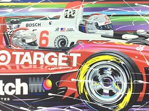 Randy Owens PASSING THE TORCH Limited Serigraph Andretti Signed Indy 500 Racing $445.00