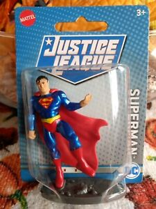 DC Justice League Figure SUPERMAN by Mattel from 2020 New $2.00