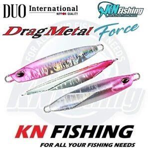 DUO quot;DRAG METAL FORCE 60grquot; Shore Metal Jig Lure Spinning Saltwater Fishing 60gr