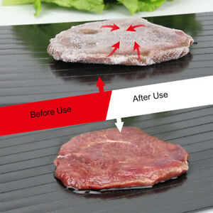 New Defrosting Tray Fast Thawing Safe Defrost Kitchen Meat Thaw Frozen Food US