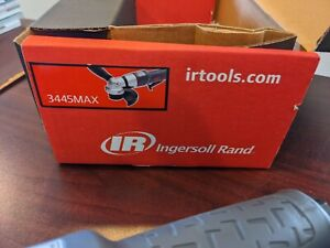 Ingersoll Rand 3445MAX Angle Grinder Air Tool 12000 RPM .88 HP 5 8quot; 11 $185.00