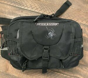 Spiderwire Waist Pack Tackle Bag Fanny Pack Fishing Storage Travel Organizer