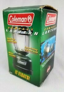 Coleman Battery Operated Compact Floating Camp Lantern #5310 Box amp; Instructions $22.98