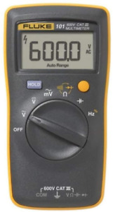 Fluke 101 Basic Digital Multimeter Pocket Portable Meter Equipment Industrial $58.01