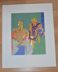 Rare LITHOGRAPH PHOEBE BEASLEY African American Artist 17x21 Los Angeles 96 99 $750.00
