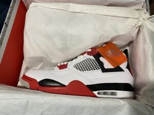 Nike Air Jordan Retro 4 'Fire Red' 2020 NEW MULTIPLE SIZES AVAILABLE $254.99