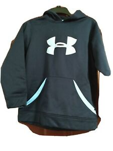 Kids Under Armour Hoodie Size Large Blue $20.00