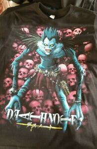 Death Note Anime Shirt Mens Small black $20.00