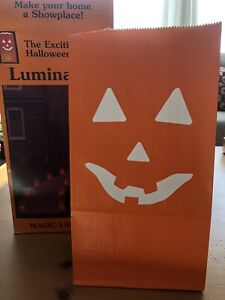 Halloween Pumpkin Luminarias