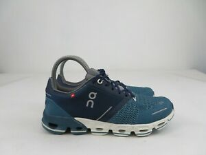 On Cloud Cloudflyer Blue White Running Walking Athletic Shoes Womens Size 7 M $114.99