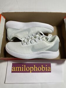 New Womens Size 6 White Nike Lunarconverge Running Shoes $50.05