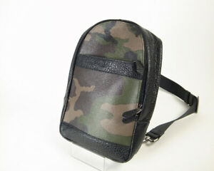 Coach Camouflage Body Bag F29713 Second Hand Pawn Shop Exhibition 14811