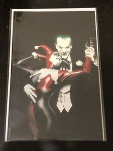 Batman Harley Quinn #1 Alex Ross Fan Expo FOIL Exclusive Variant Cover Sold Out $59.95