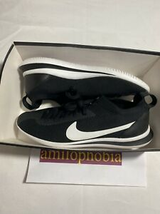 New Mens Size 10 Black White Nike Cortez Flyknit Running Shoes $77.77