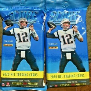 2020 Panini Score Football Fat Pack HOT LOT OF TWO Burrow rookie?? donruss prizm $22.99