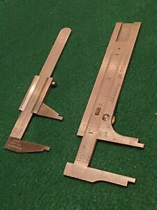 Vintage STARRETT No.425 pocket caliper and more $49.95