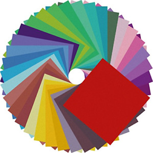 Origami Paper Double Sided Color 200 Sheets 20 Colors 6 Inch Square Easy