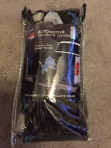 NFL Detroit Loins Football Tailgate Truck Cover Apparel Gear Tailgating Fun