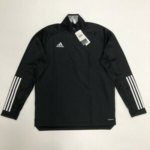 Adidas Condivo 20 Warm Top 1 4 Zip Size LARGE Football Jacket $49.99
