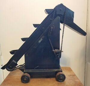 Vintage Metal Construction Toy Bucket Conveyor Circa 1920s