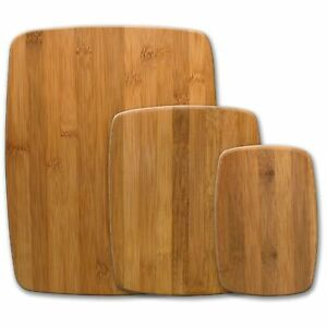 Farberware Classic Table Set of 3 Piece Bamboo Cutting Board Set Kitchen Tools $17.00
