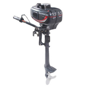 HANGKAI 3.5HP 2Stroke Outboard Motor Fishing Boat Engine 2.5KW Water Cooling CDI