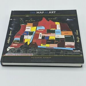 The Map as Art : Contemporary Artists Explore Cartography by Gayle Clemans... $12.00