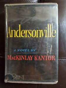Andersonville By MacKinlay Kantor First Edition $120.00